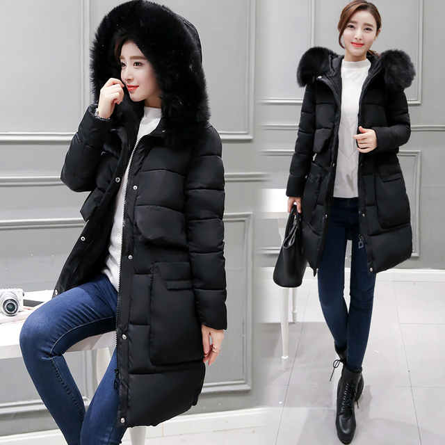 1f374bf2fcd Pengpious 2018 winter hot selling down coats fur hooded pregnant women plus  size thick warm cotton jackets maternity overcoats
