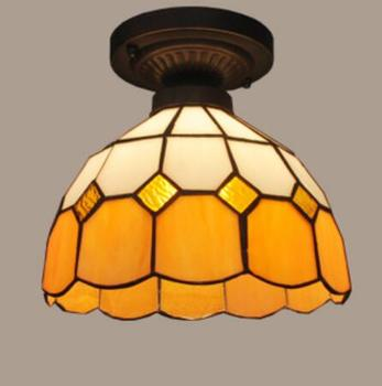 แสงโคมไฟโคมไฟเพดานโคมระย้าทางเดินเพดานวงกลมขนาดเล็กสุทธิDF12