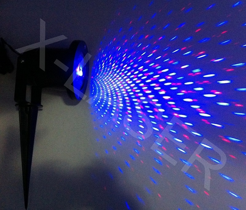 Red Amp Blue Moving Laser Points Garden Laser Outdoor Holiday