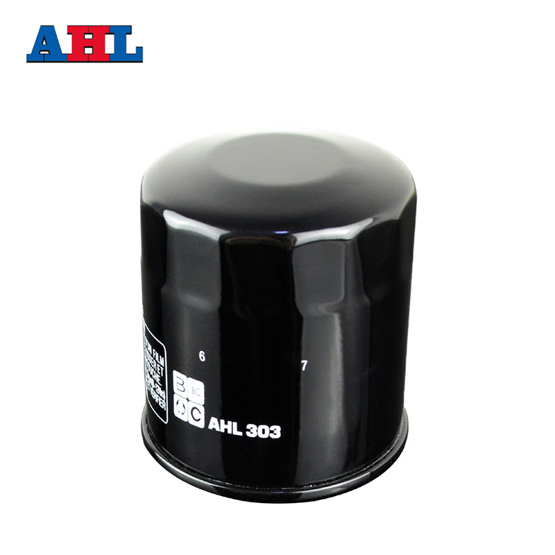 303 Motorcycle Parts Oil Filter For Kawasaki VN750 800 VN900 <font><b>VN1500</b></font> VN1600 VN1700 VN2000 ZX636 ER6N ER6F Z750R ZZR600 ZX6R ZX750 image