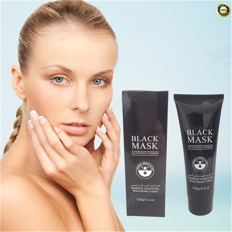 Hot Sell Chinese Herbal Skin Care Suction Black Mask Facial Mask Nose Blackhead Remover Peeling Peel Off Black Head Acne Cure