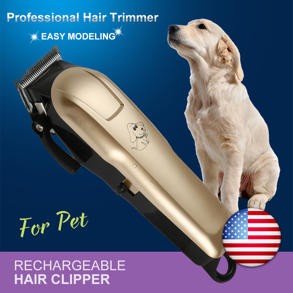 Professional Pet Dog Hair Trimmer Animal Grooming Clippers Cat Cutter Machine Shaver Electric Scissor Clipper 110-240V AC professional pet hair clipper trimmer scissors dog rabbits cat shaver grooming electric shear cutting machine fur cutter comb