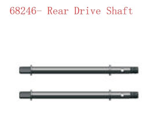 RGT Rc Crawler 136100V2 Rock Cruiser RC-4 Spare Parts Rear Drive Shaft 68246