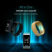Jakcom B3 Smart Band New Product Of Wristbands As Heart Rate And Blood Pressure Watch For Xiaomi Mi Band Pulse 1S Sma Band