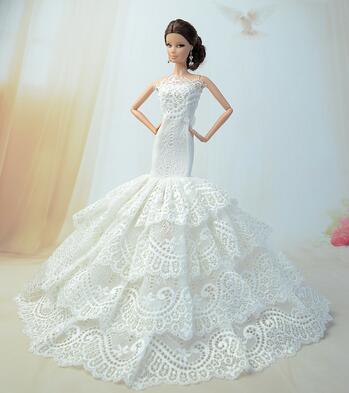 case for barbie princess dress barbie white skirt accessories for barbie dolls clothes set wedding dress and acces evening dress