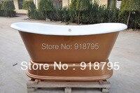 Free Shipping Bathtub Cast Iron Pedestal Bathtub