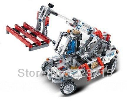 *Bucket Truck 1* DIY enlighten block bricks,Compatible With other Assembles Particles
