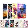 Fundas pintadas para tableta Samsung Galaxy Tab A 10,1, 7,0, E, 9,6, 8,0, de silicona, TabE, P580, T580, T280, T385, T560, T375