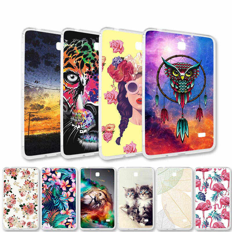 Painted Cases For Samsung Galaxy Tab A 10.1 7.0 E 9.6 8.0 Case Silicone TabA TabE P580 T580 T280 T385 T560 T375 Tablet Cases Tab