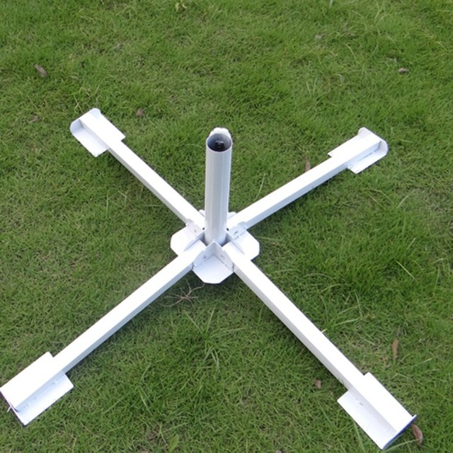 New Arrival Large Beach Umbrella Holder Patio Base Outside Folding Stand Cafe