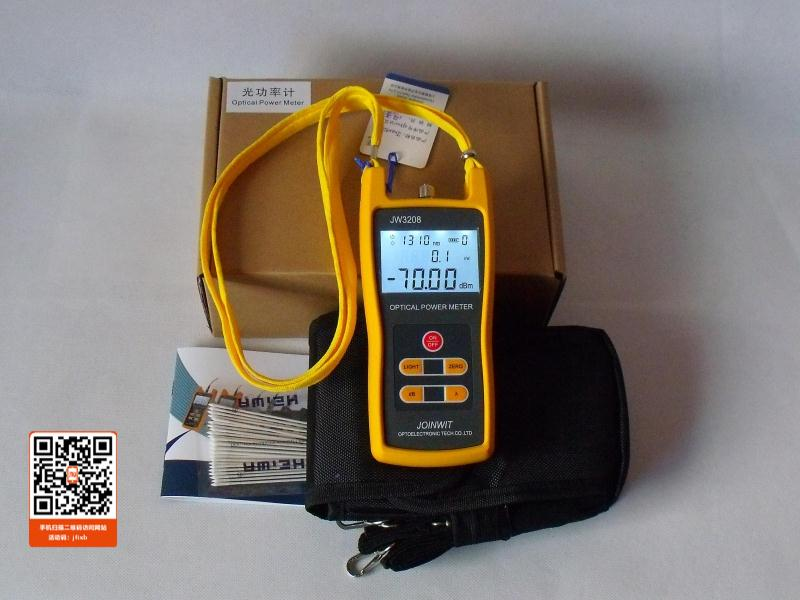 JW3208A Portable -70~+6dBm Handheld Fiber Optical Power MeterJW3208A Portable -70~+6dBm Handheld Fiber Optical Power Meter