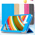 """For CHUWI Hi8/Hi8 Pro Leather Case PU Leather Solid Folding Stand Case Cover for 8""""inch Tablet Protector Leather Cover"""