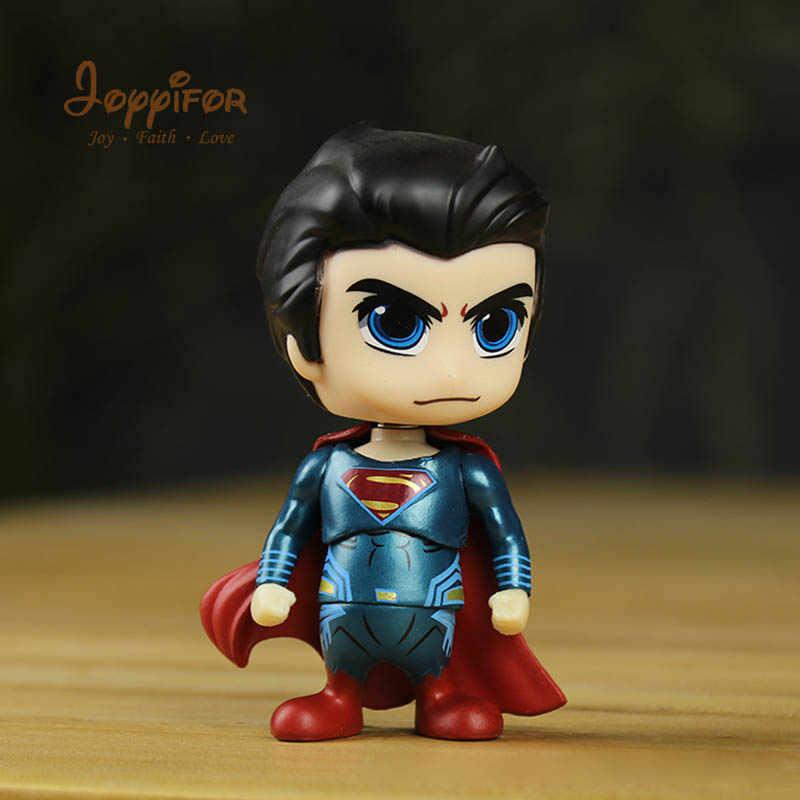 Joyyifor أعجوبة بطل السوبر سوبرمان فارس باتمان الطابع PVC الشكل العمل مجموعة لعبة مجسمة ل الطفل هدايا أعياد ميلاد للأطفال