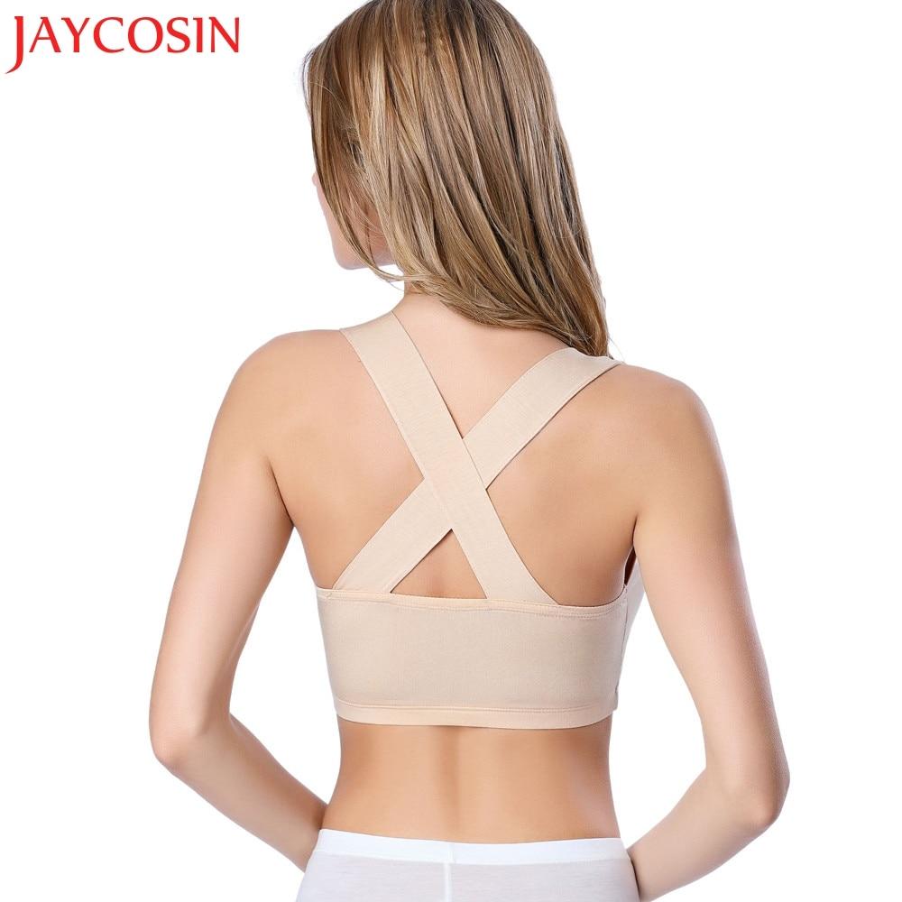 JAYCOSIN 2018 Sexy Women Condole belt Bustier Bralette Corset Tops Pure Cut Out Bra Crop Intersect Tank Top Drop Shipping 05.17