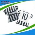 Новый сезон авто ювентус подушки футбольного джерси автомобилей декоративные вентилятор сувенир футбол подушки Tevez Vidal Pogba Pirlo