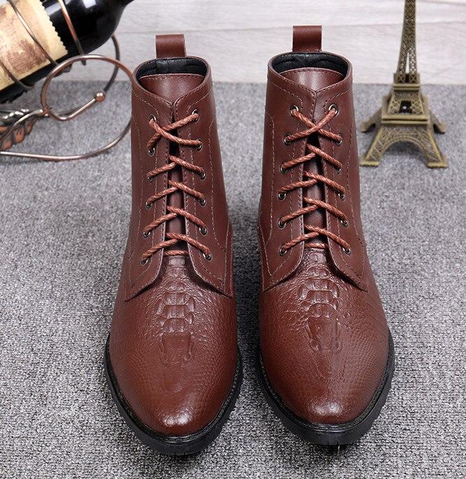 El Botas Verano Zapatos Moda Nueva Vestir De Primavera Lace Tallada Envío Inglaterra Hombres Libre Up Pic Transpirable Estilo Martin As 7qgwntXZx0