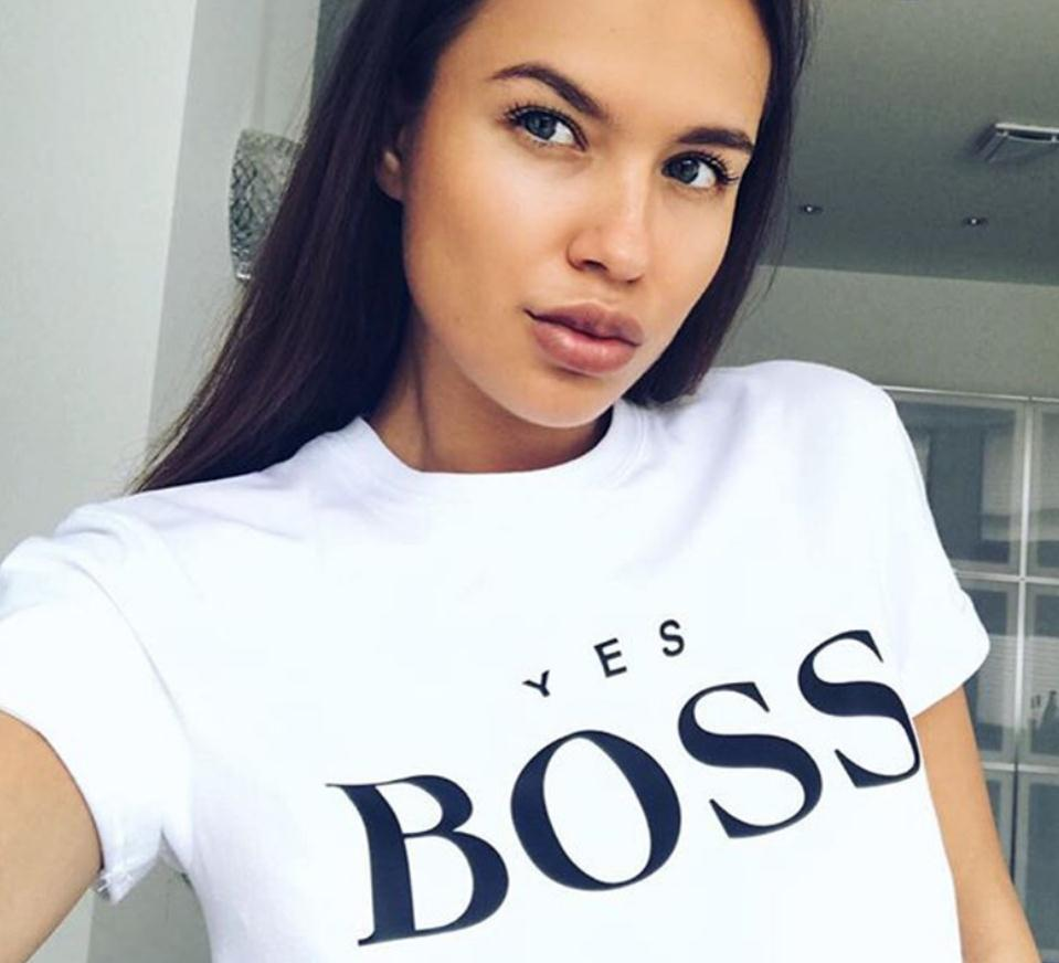 Yes Boss Letter Print T Shirt Women Short Sleeve O Neck Loose Tshirt 2019 Summer Women Tee Shirt Tops Camisetas Mujer