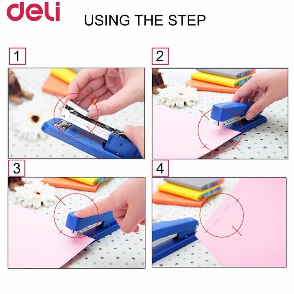 Deli 0015 Staples heftklammer For Stapler 500pcs/box 23/10 Size ...