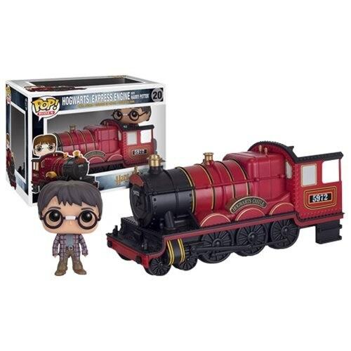 Chariot officiel Funko pop Harry Potter poudlard avec figurine en vinyle Harry potter jouet de collection avec boîte d'origine