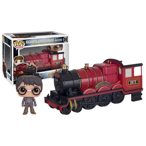 Official Funko pop Harry Potter Hogwarts Express Carriage with Harry potter Vinyl Figure Collectible Model Toy with Original box funko pop official movies moana maui pvc action figure toys 2017 new 100% original pop toy for children baby gift comes with box