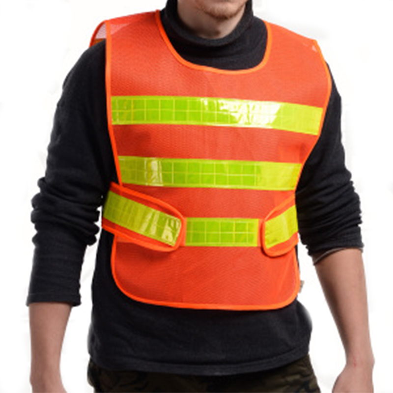 Waistcoat Reflective Clothes Vest Ultimate Performance Running Race High Visibility Reflective Fluorescent Safety Clothing