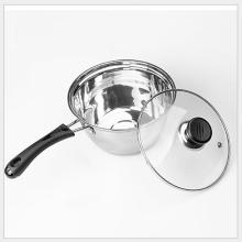 RSCHEF 1 pcs milk pan single handle stainless steel cooker common fire with a small pot of baby milk noodles(China)