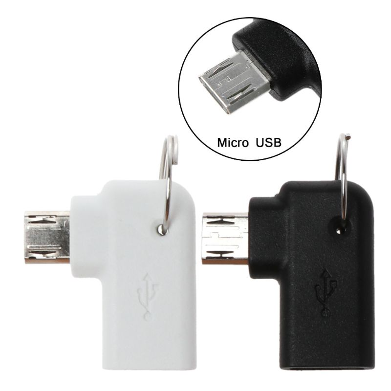 90 Degree Type C Female To Micro USB Male Charging Converter Connector Adapter For Samsung Huawei Android Mobile Phone Tablet