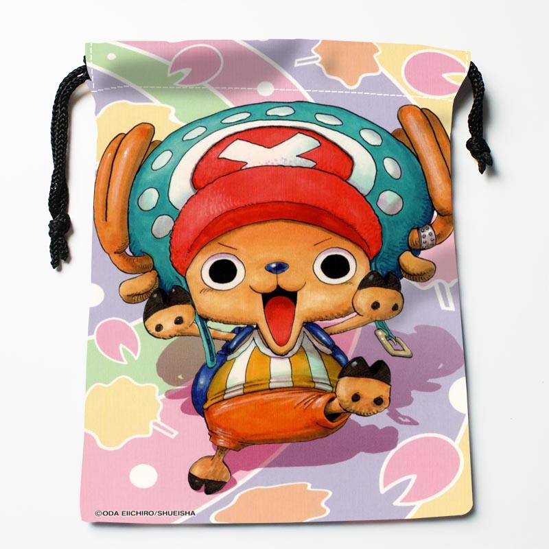 Custom One Piece Tony Tony Chopper Drawstring Bags Custom Printed Gift Bags More Size 27x35cm Compression Type Bags