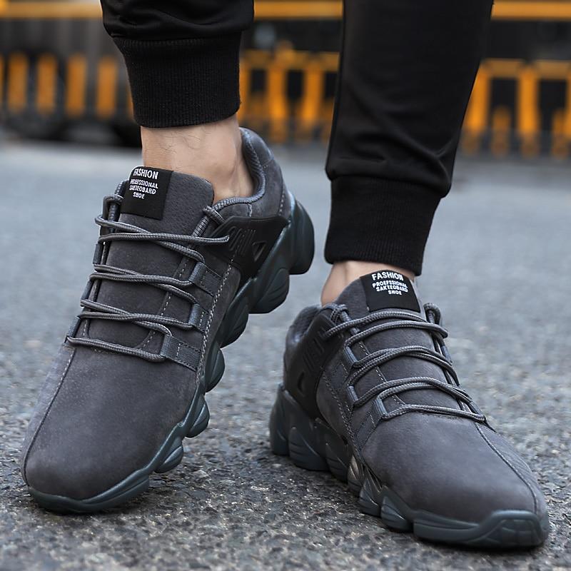 Black Marque Marche Plus Des Chaussure 46 Appartements Casual Vente gray Hommes Confortable brown De 45 Chaussures Taille Mode Espadrilles À Tennis Chaude Homme Lacets a1nSw0