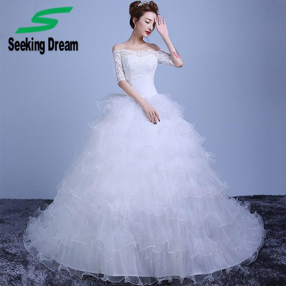 Fancy Cheap Princess Wedding Dresses Composition - All Wedding ...