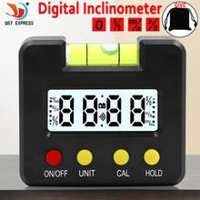 Mini Digital Display Winkelmesser Neigungs Ebene Meter 0,1 Grad Auflösung und Grad Palette