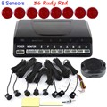 best selling a set 44 Colors for choice Buzzer Reverse Backup Radar Monitor 8 sensors Car Original Parking Sensor