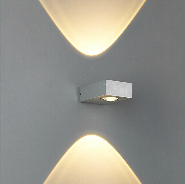 Feimefeiyou 6w led wall lamp up and down side lighting modern feimefeiyou 6w led wall lamp up and down side lighting modern compact size two ways lighting indoor led wall lights sconce in led indoor wall lamps from aloadofball Image collections