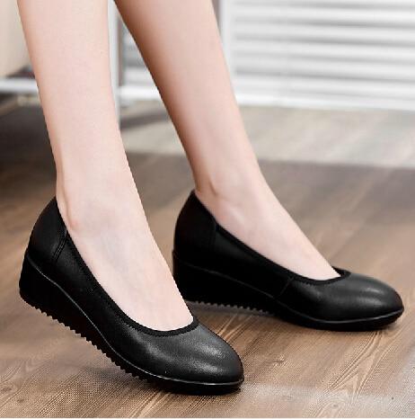 Women 6cm Heels Pumps Female Ol Soft