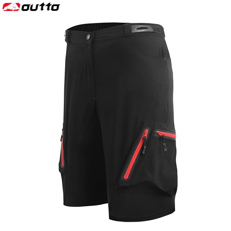 цена на Outto Men's Cycling Shorts Bicycle MTB Bike Breathable Loose Shorts Camping Running Outdoor Sports Shorts M-XXL XXXL