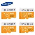 Samsung micro sd cartão de memória de 128 gb 16g 32g 64g microsd cartões evo max 48 m/s sdhc sdxc uhs-eu uhs flash tf c10 mikro cartão (evo 48 m)