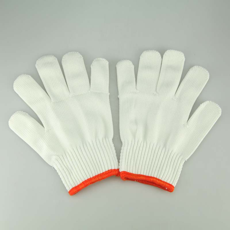 1 Pair Gloves & White Cotton Glove Used For Kiln Kit Accessories Jewelry Equipment Hands Protection In Jewelry DIY Process