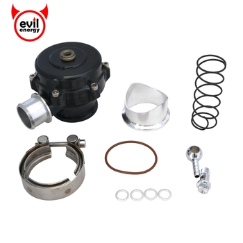 evil energy 50mm Tial Blow Off Valve Universal Turbo BOV New Design SPRING FLANGE With Flange Blow Dump Blow Off Adaptor