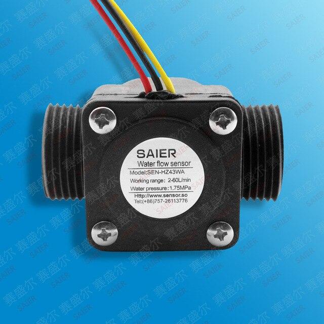 Aliexpress.com : Buy Water Flow meter flowmeter fuel gauge Hall flow ...