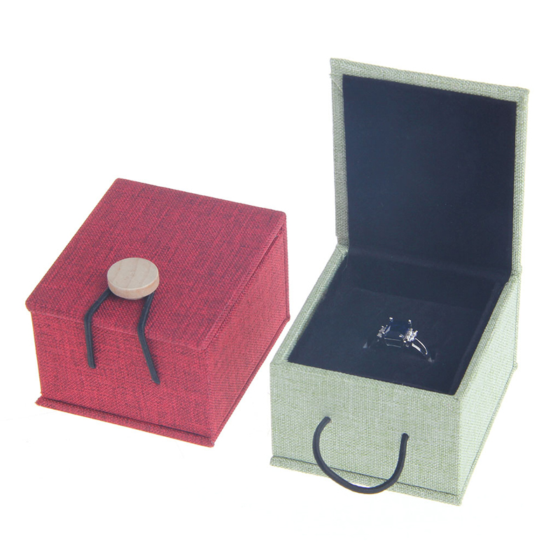 Fashion Engagement Wedding Earring Ring Pendant Jewelry Display Storage Box Gift 4colors