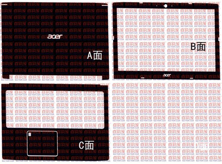 Laptop Carbon Fiber Vinyl Skin Stickers Cover For Acer Aspire A715 A715-71G A715-72G K50-30 A615 A615-51G 15.6