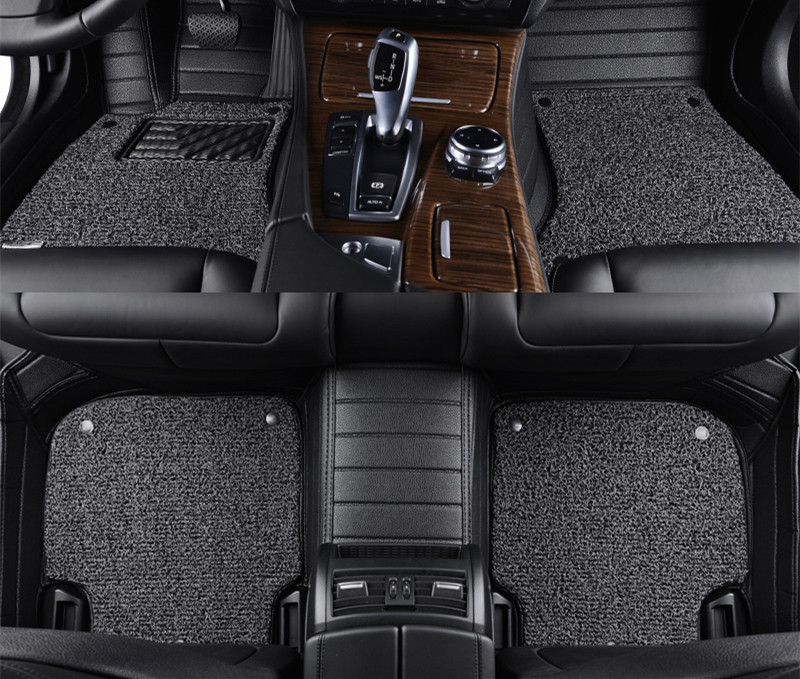 Volvo Floor Mats S60: Leather Wire Car Floor Mat For Volvo XC90/60 S90/80 S60/L