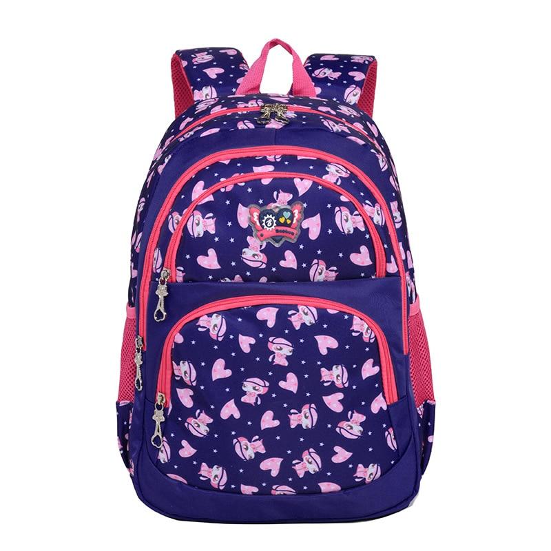 Children School backpack For Girls School Bags Orthopedic Backpack Kids cartoon Backpacks schoolbag Primary Kids Satchel mochila