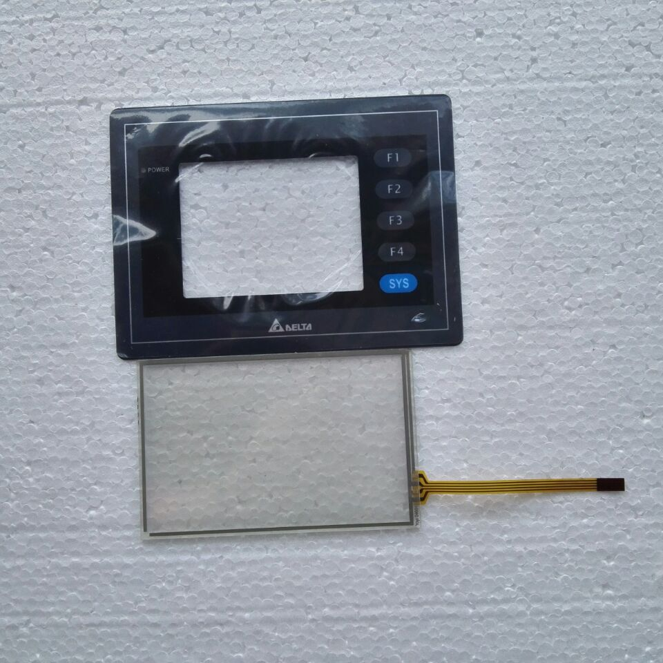 3 5 INCH DOP AS35THTD Touch Glass PaneL Membrane film for DELTA HMI Panel repair do