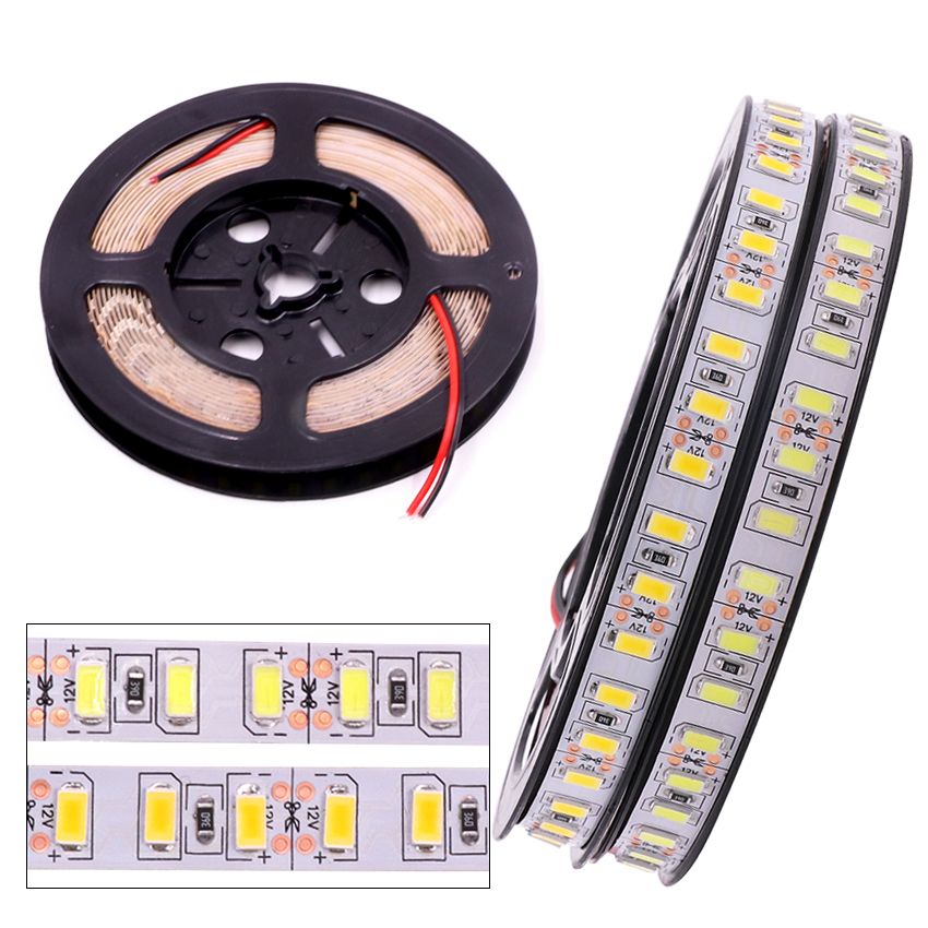Super Bright 120leds/m SMD 5630 5730 led strip light Flexible 5M 600 LED tape DC 12V non waterproof tape Ribbon lamp 1m 2m 3m 4m 1m 2m 3m 4m 5m led strip smd 5630 120leds m non waterproof flexible 5m 600 led tape 5730 dc12v tape rope lamp light