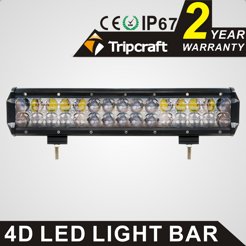 TRIPCRAFT double row 14 inch 150W 4D LED Work Light Bar for Tractor Boat OffRoad 4WD 4x4 Truck SUV ATV Spot Flood Combo Beam 12v nicoko 180w 32 curved led work light bar fog lamp spot lights for tractor boat offroad 4wd 4x4 truck suv atv combo beam 12v 24v