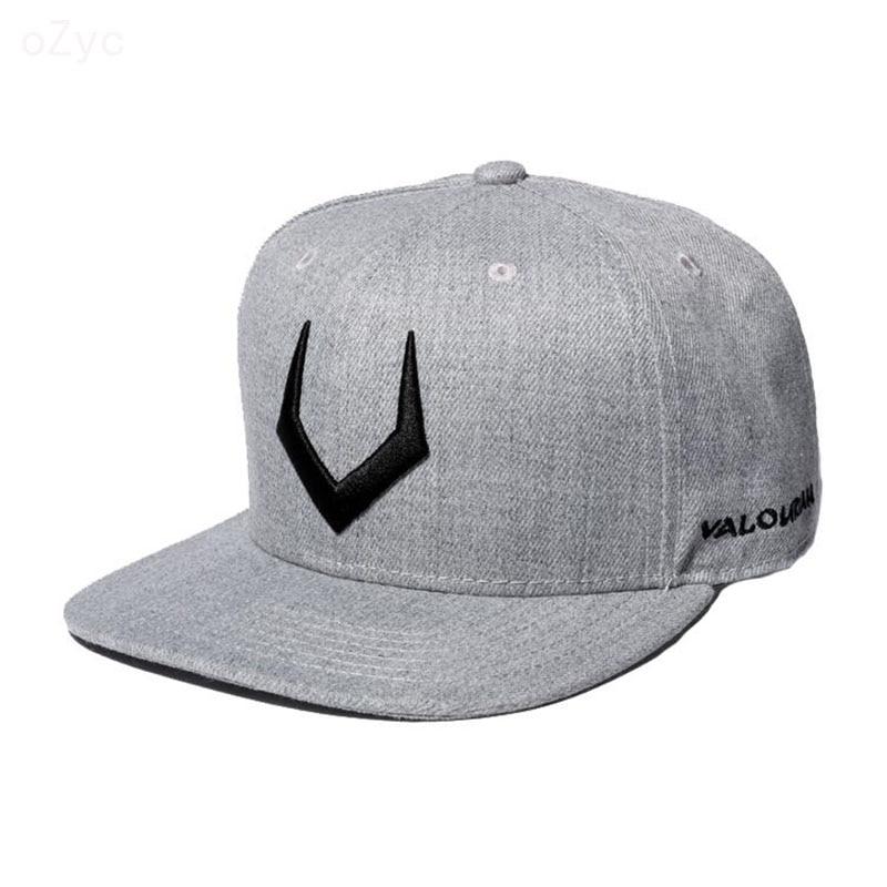 High quality grey wool snapback 3D pierced embroidery hip hop   cap   flat bill   baseball     cap   for men and women gorras hip hop   cap