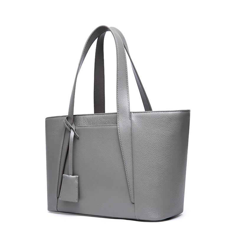 LUODUN2018 fashion avant-garde läder handväska pendeltäcka första - Handväskor - Foto 2