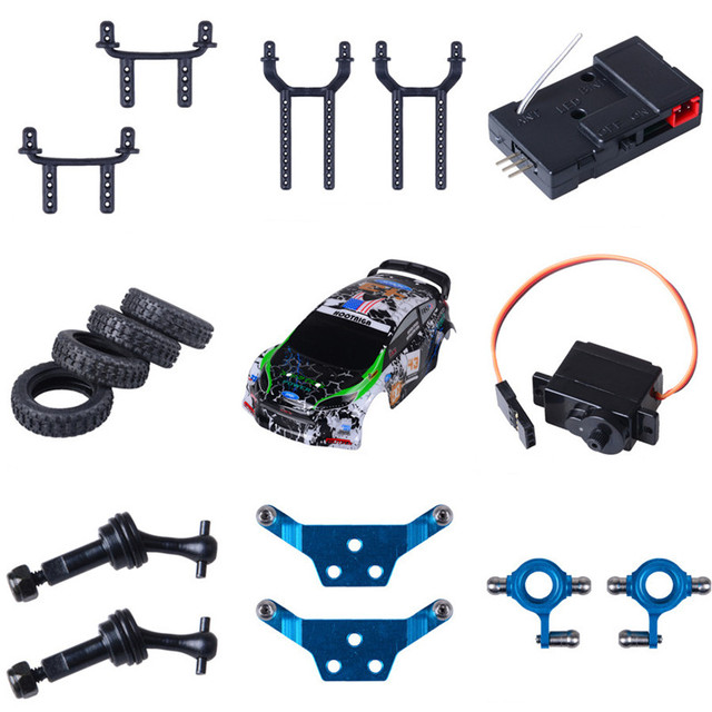 Aliexpress.com : DIY Teile Für WLtoys RC Auto Motor Getriebe Front ...