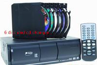 car auto 6 disc dvd cd changer for all brand cars